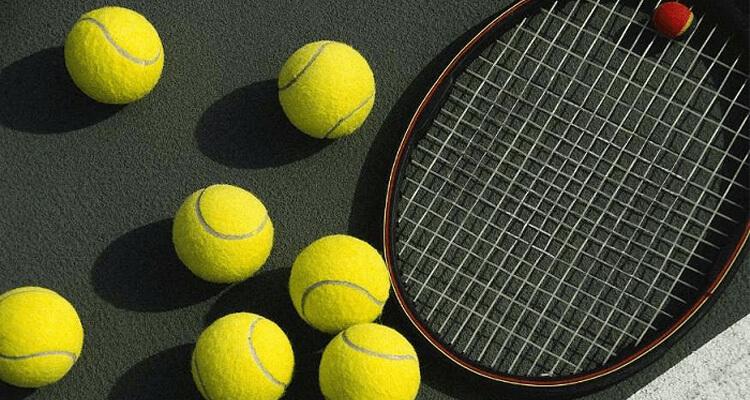 vợt và bóng tennis