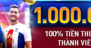 100% thưởng cho thành viên mớ