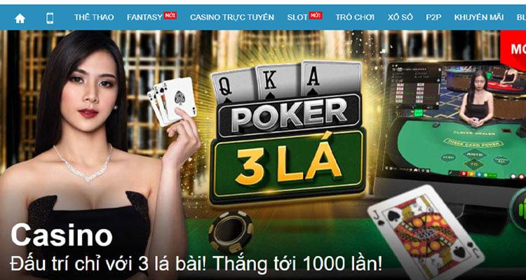 poker 3 lá W88