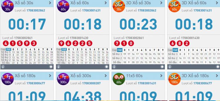 thị trường lotto W88